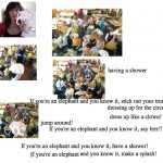 Week 4: Brainstorming for the Elephant Flashmob