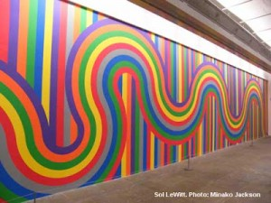 Wall drawing 1136 - Sol le Witt