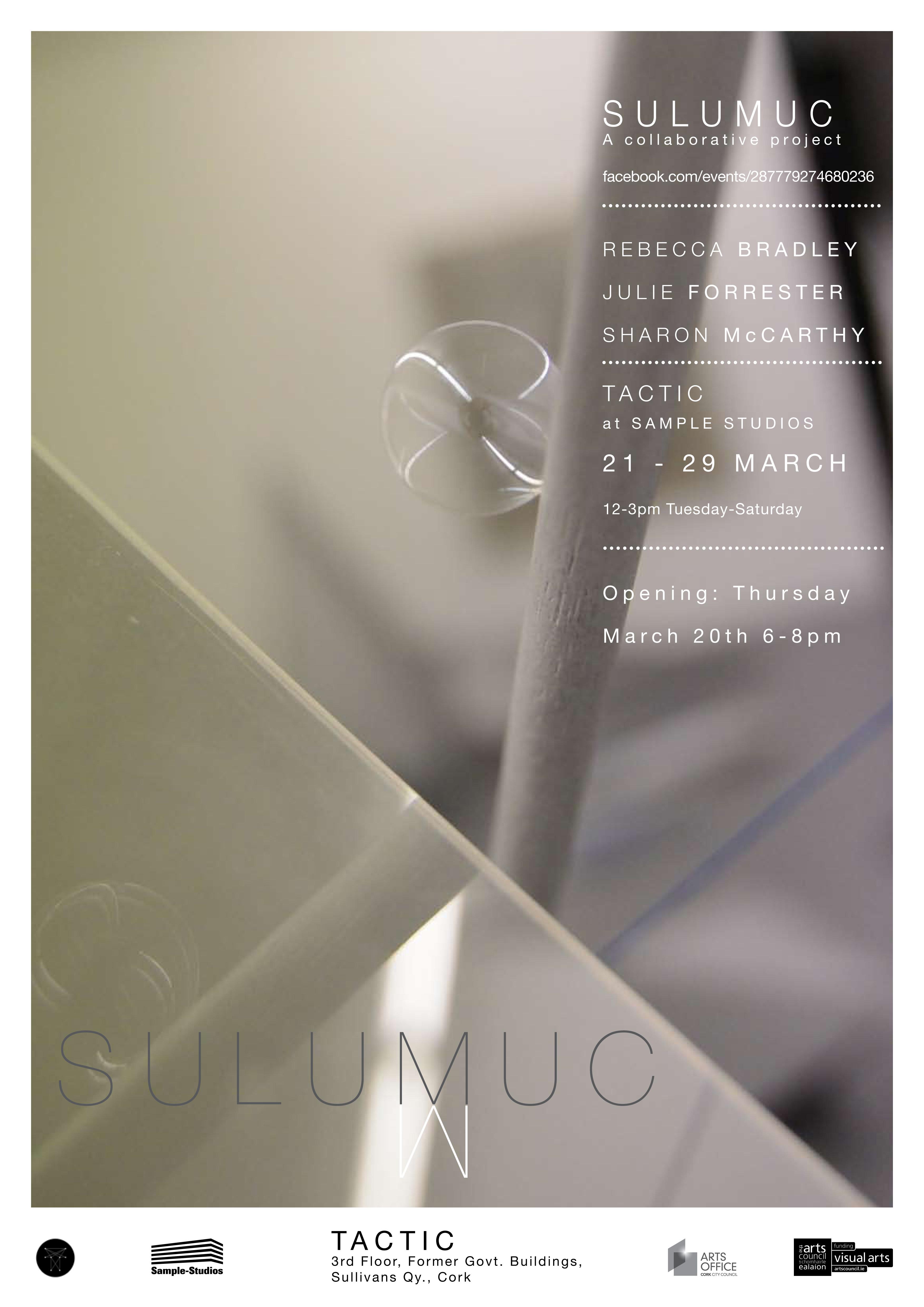 SULUMUC exhibition poster